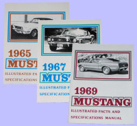 Mustang Illustrated Facts Books