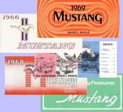 Mustang Owners Manuals